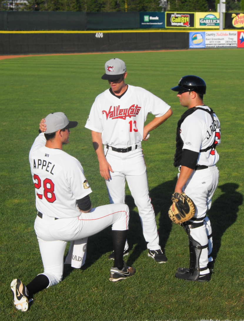Mark Appel, Doug White and Jake Rodriguez